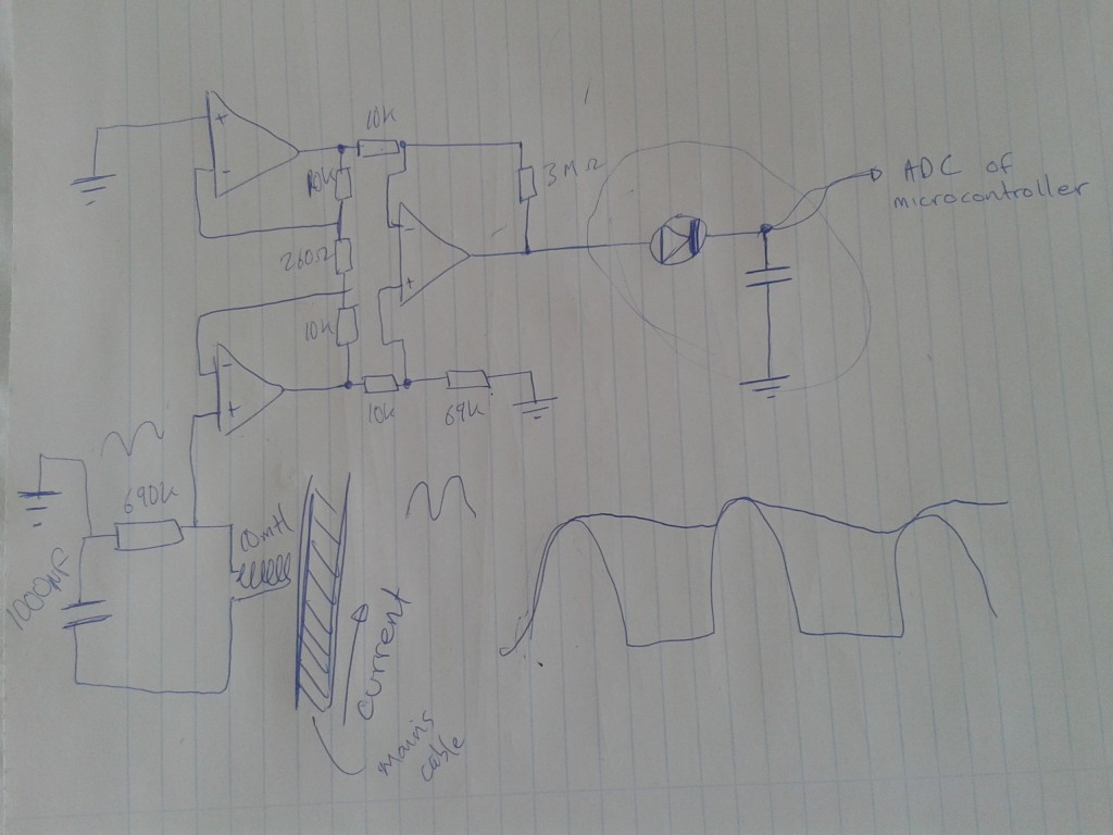 mains power detection circuit